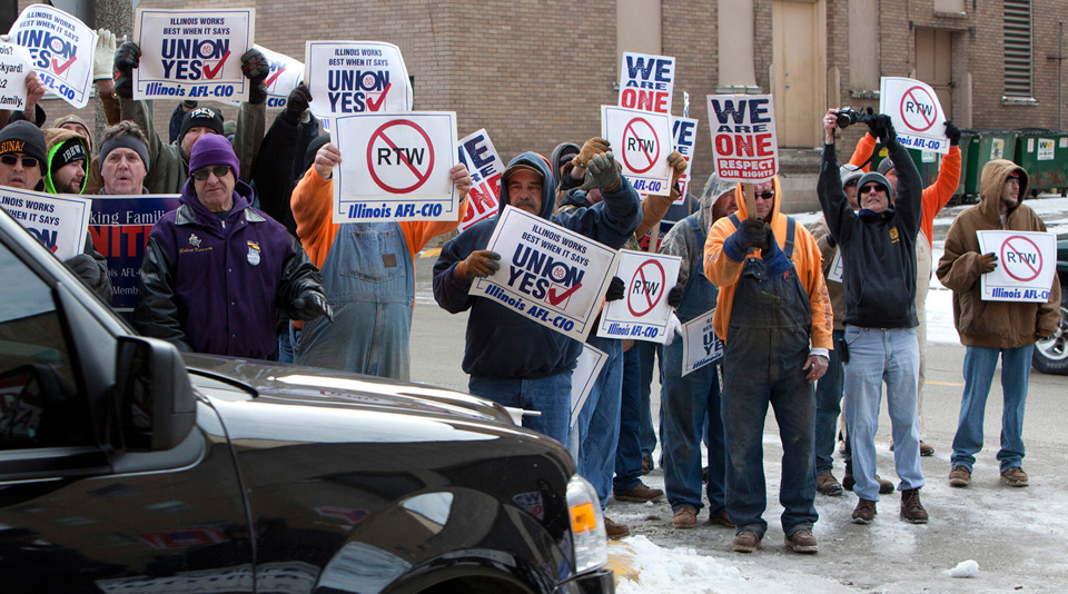 "Illinois court dismisses ""right-to-work (for less)"" coalition"