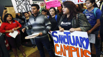 Time for a 'sanctuary campus' movement to protect students