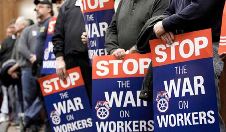 Teamsters fight back against 'right-to-work'