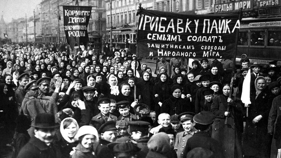 The Russian Revolution How The 11