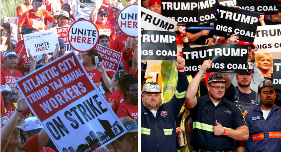 A positive agenda would unite unions in the fight against Trump