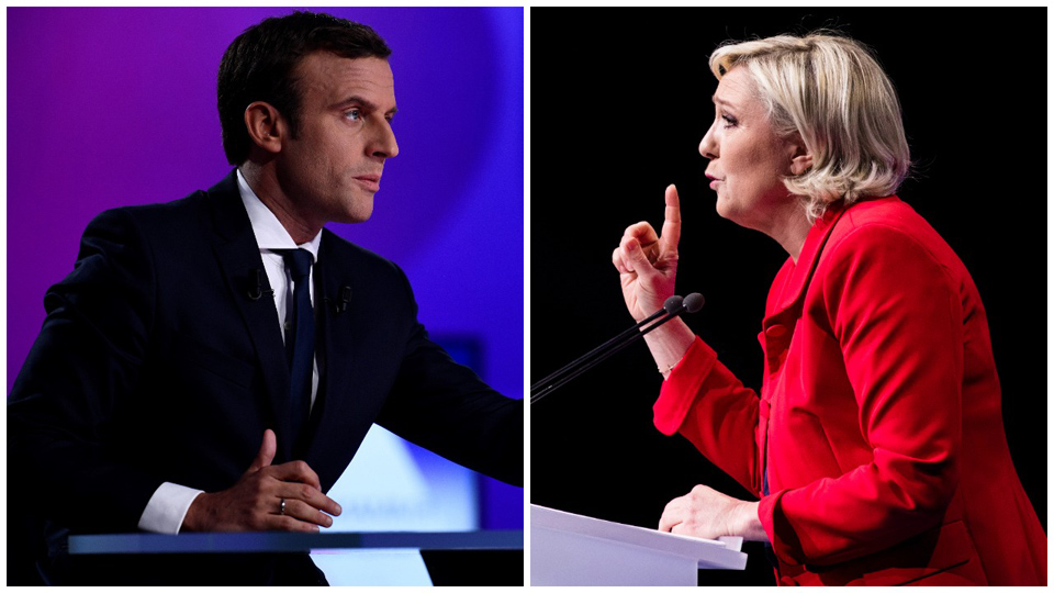 Macron vs Le Pen: French election pits neoliberal centrism against far-right