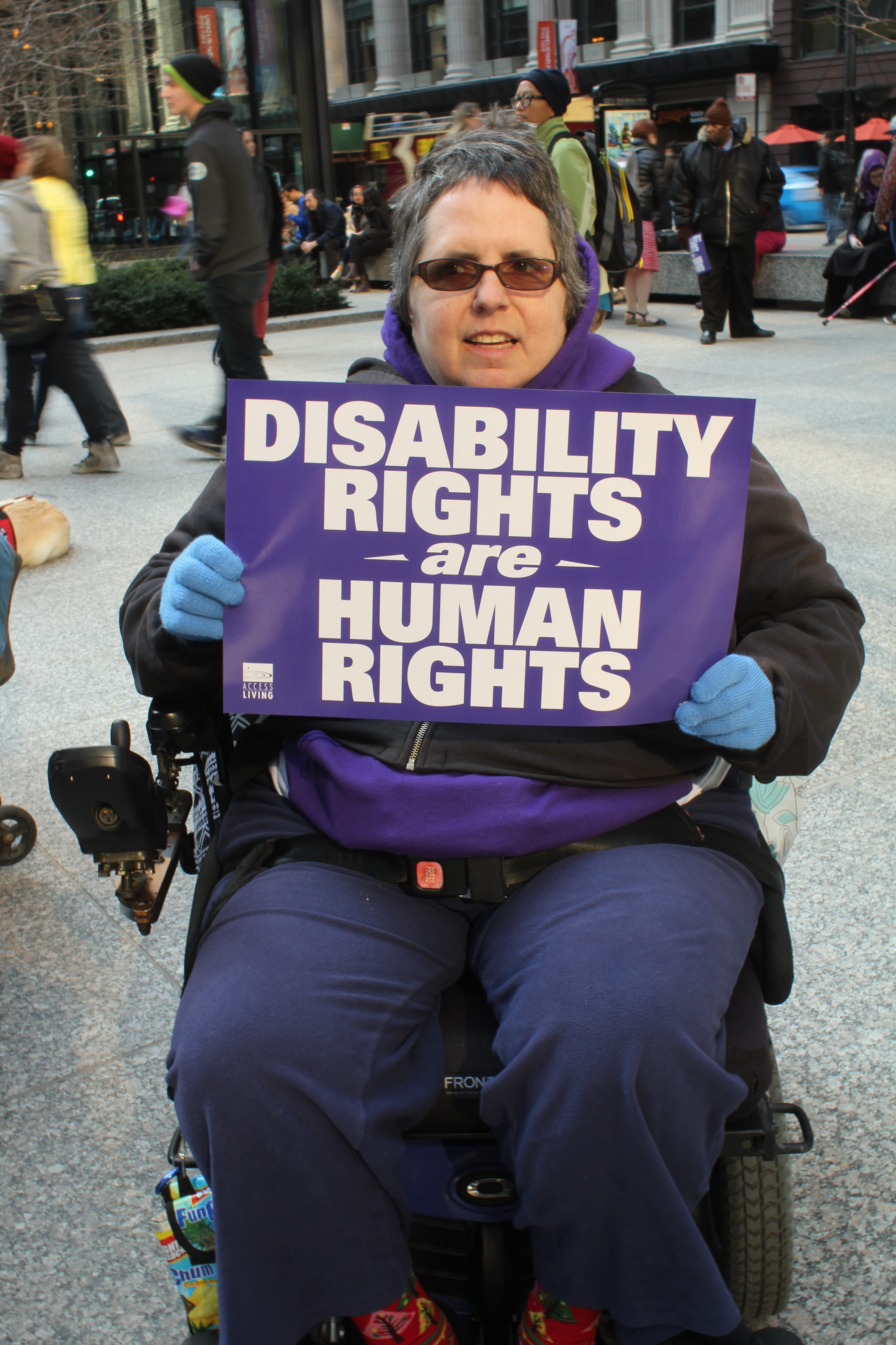 Affordable Health Insurance >> Disability rights movement defends healthcare; demands to be seen – People's World