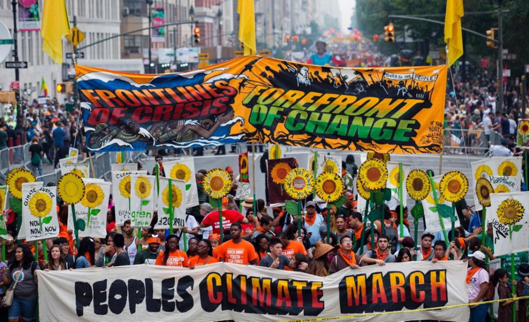 Unions are all in for People's Climate March, April 29