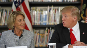 DeVos tosses out Obama-era rules for student loan lenders