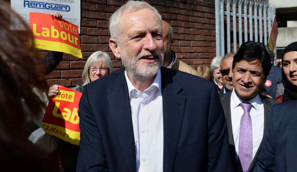 Britain's snap election: Jeremy Corbyn's Labour Party vows tough fight