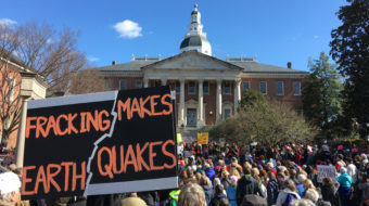 Clean water movement hails Maryland fracking ban