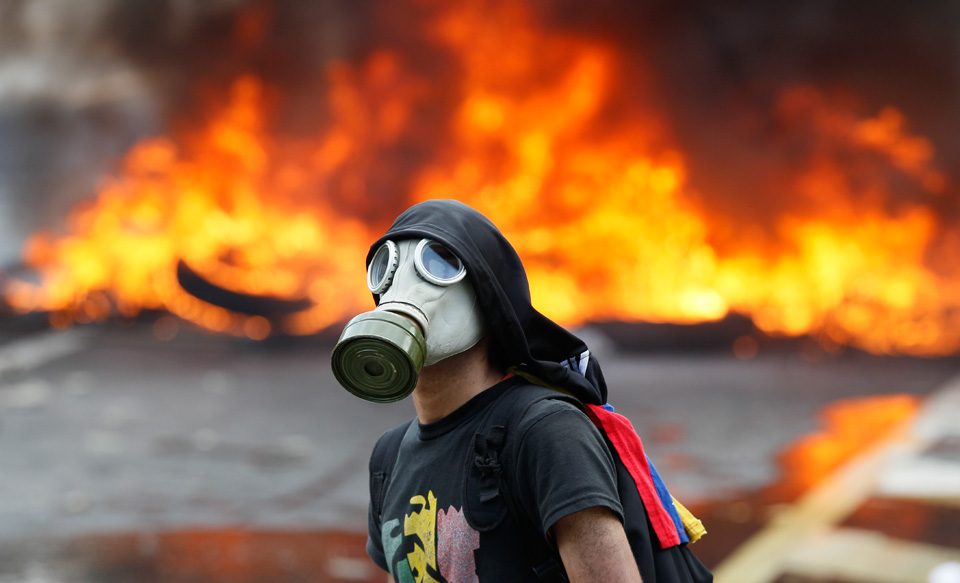 International media broadcast one-sided portrayal of Venezuela violence