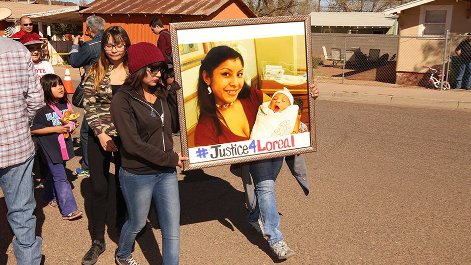 Where is Justice for slain Navajo mother, Loreal Tsingine?