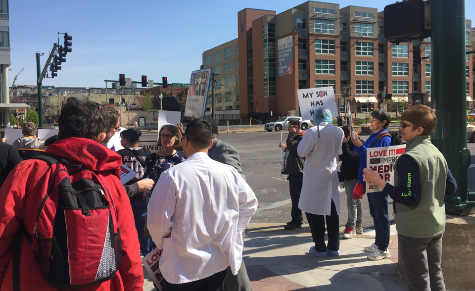 St. Louis Activists rally for universal healthcare