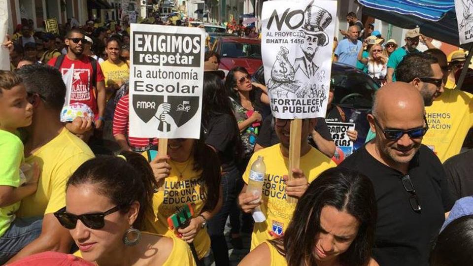 Puerto Rico: Maestros luchan por escuelas públicas