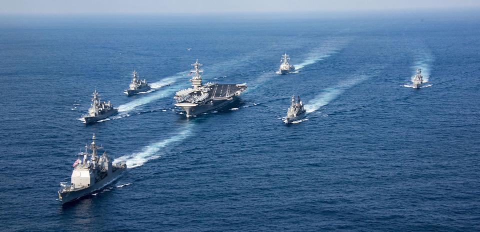 Korean nuclear crisis deepens as Trump sends warships