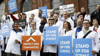 """Huge """"March for Science"""" will protest Trump's war on facts"""