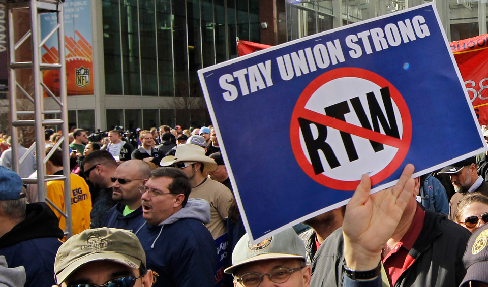 North Carolina measure aims to get rid of unions