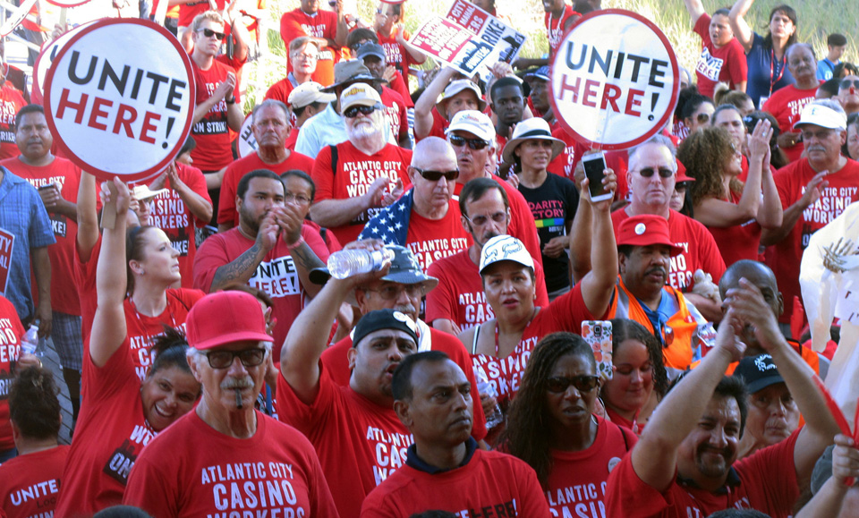 UNITE HERE and SEIU: More than 300,000 workers may walk May 1