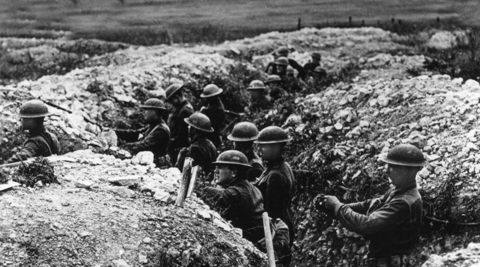 An unnoticed centennial: The day the U.S. entered World War I