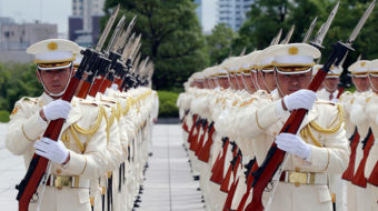 In Japan, Abe seeks repeal of the Peace Constitution