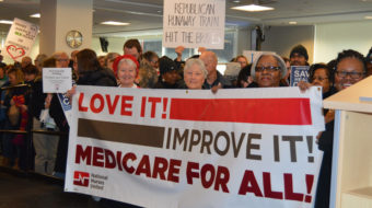 Nurses demand better health care for Americans