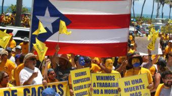 En precario los derechos laborales en Puerto Rico