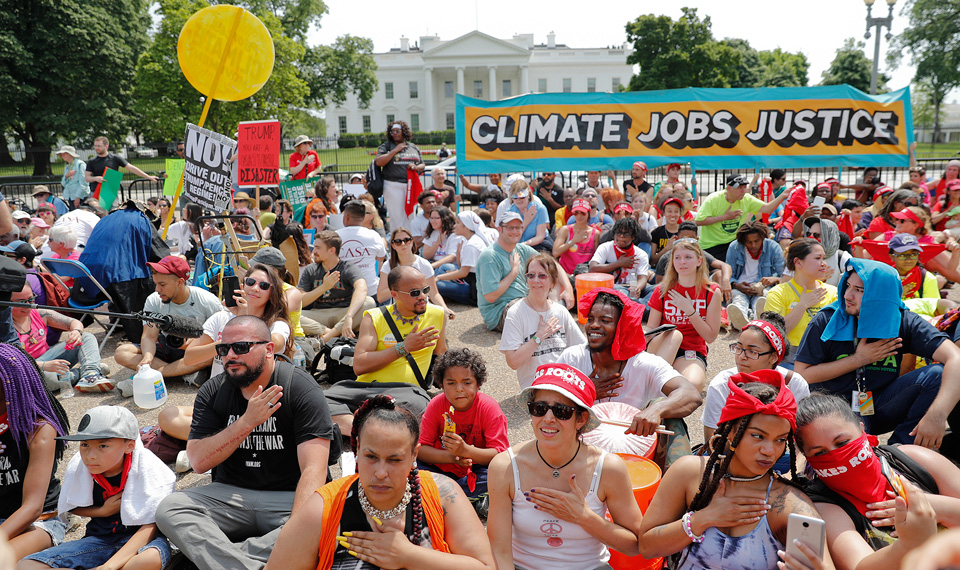 Peoples Climate March: Communities rising to resist Trump