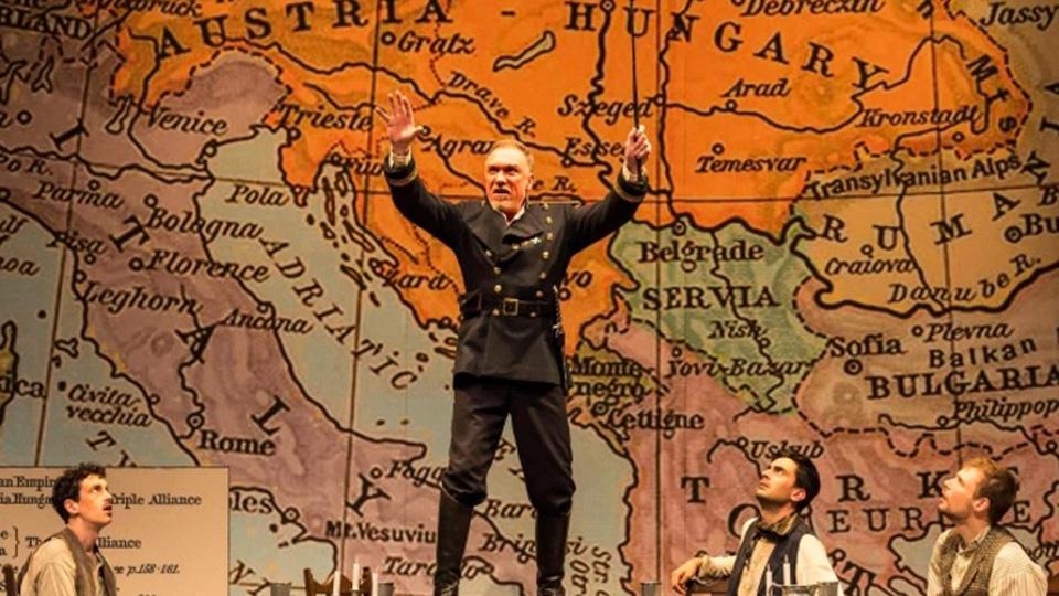 """""""Archduke,"""" world premiere play by Rajiv Joseph, twists tragedy into comedy"""