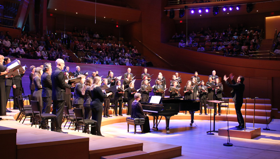 Water a powerful metaphor for perseverance in L.A. choral concert