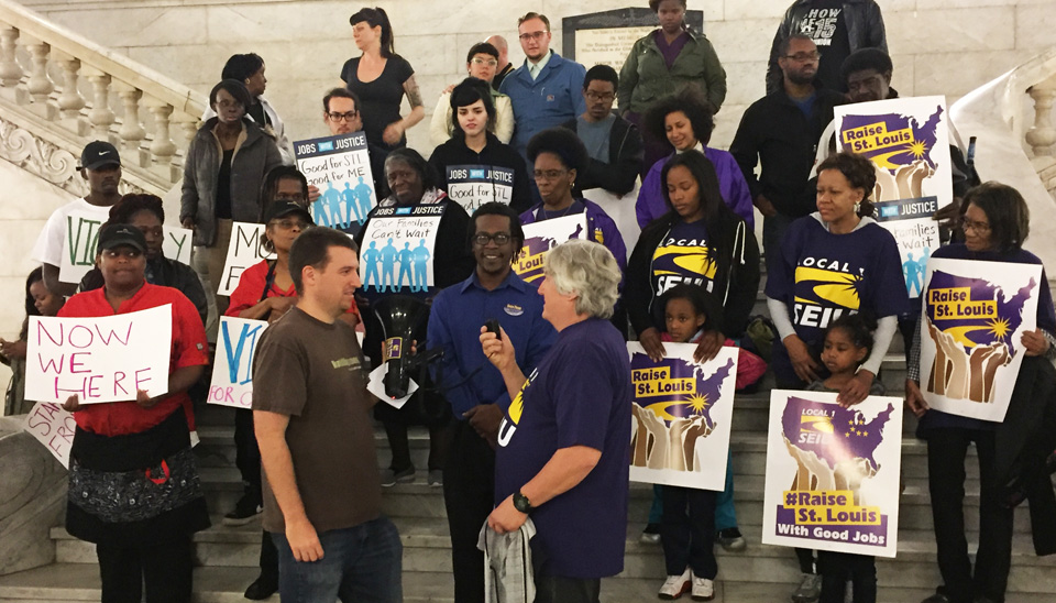 It's official: St. Louis City will raise the minimum wage