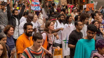 Why unionists marched for climate, jobs, justice