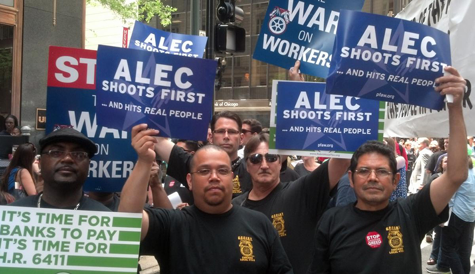 ALEC continues churning out blueprints for right wing experiments