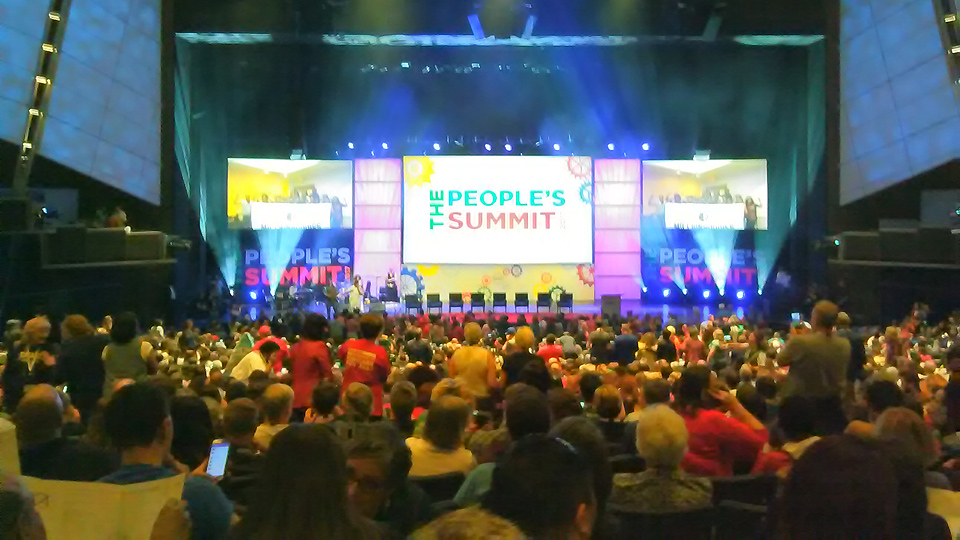 Thousands at People's Summit plan beyond resistance to Trump