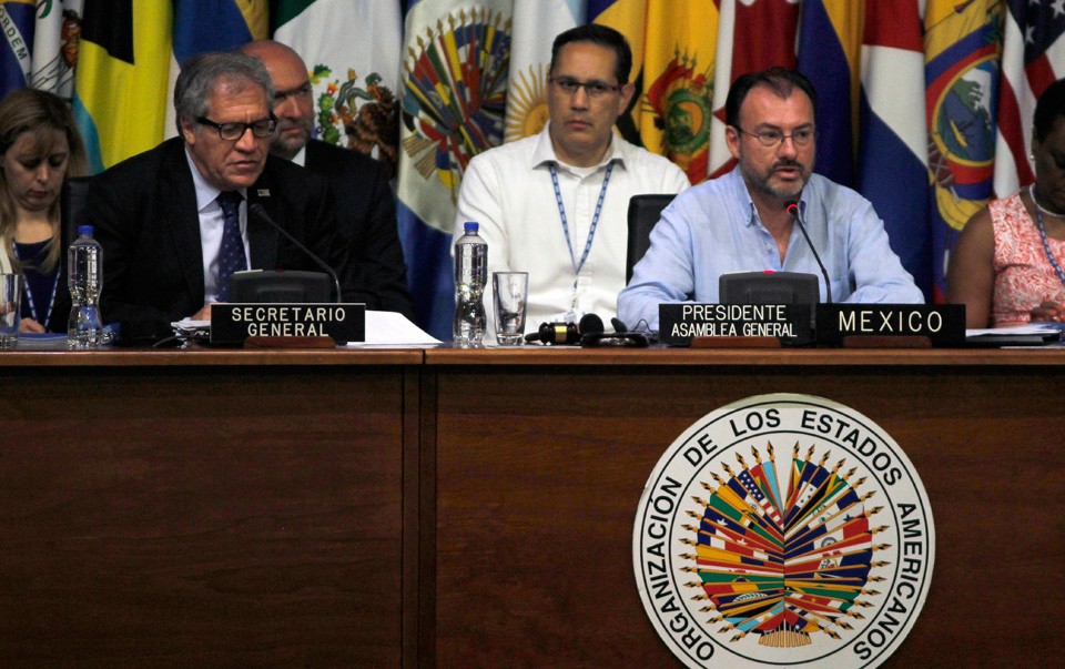 Hypocrisy versus Venezuela in the OAS