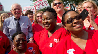 Bernie Sanders calls for healthcare mobilization in three key states