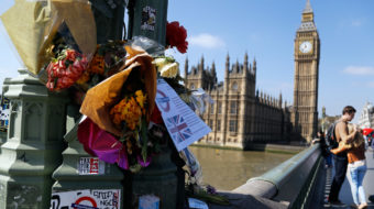 British PM uses terrorist attack to boost sagging poll numbers