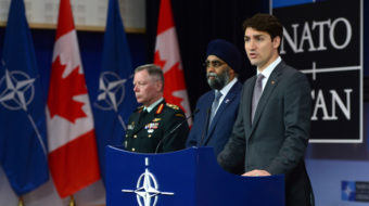 Canada: Trudeau plans 70 percent military spending increase