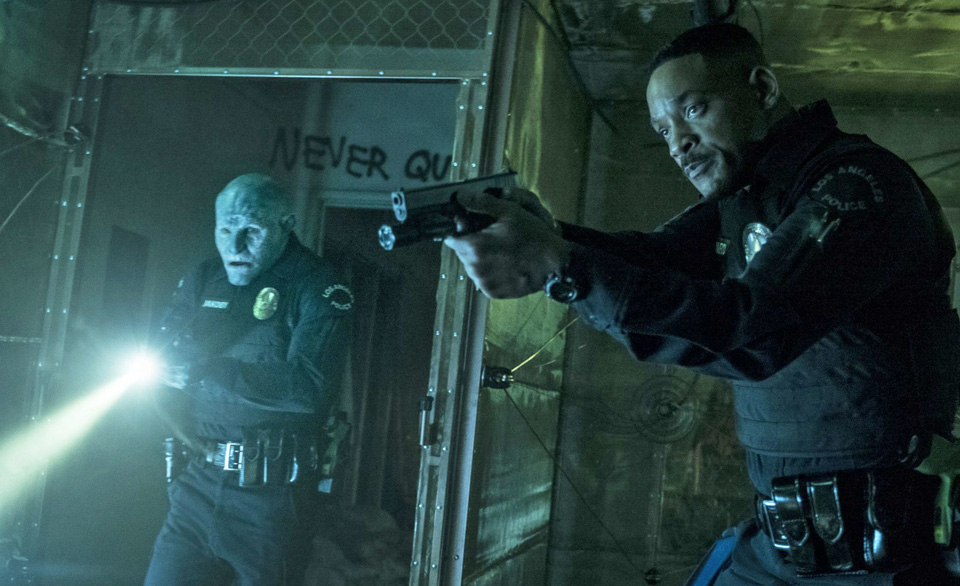 "Netflix's ""Bright"" tackles class, racism, and police brutality through Urban Fantasy"