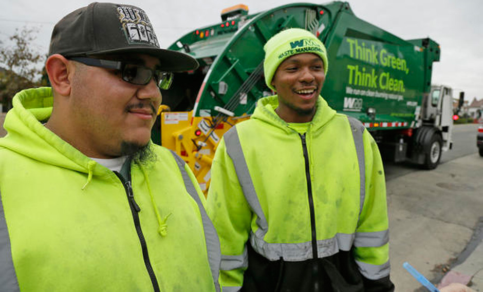 Garbage workers in CA win union after a ten-year fight
