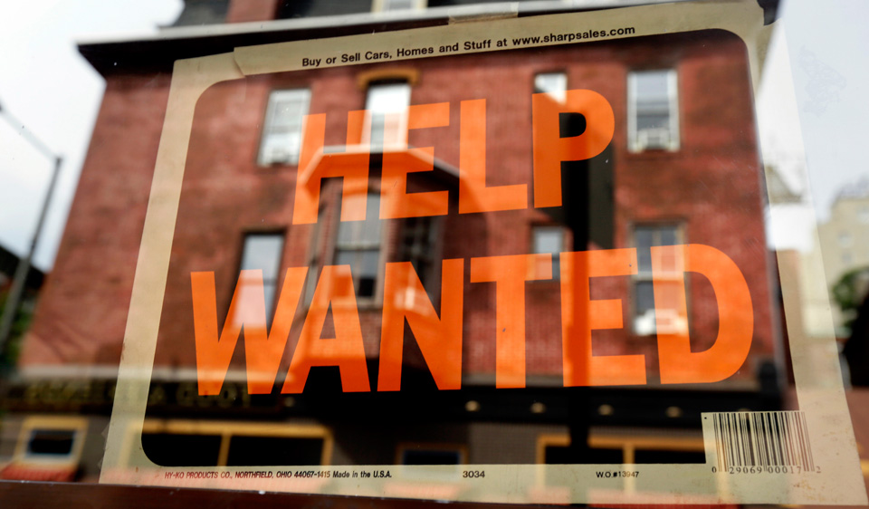 There were 6.977 million jobless workers in June up 116,000 from May