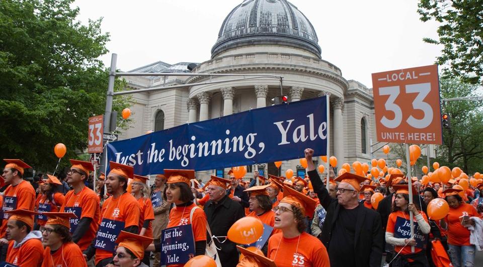 The great awakening of New England labor