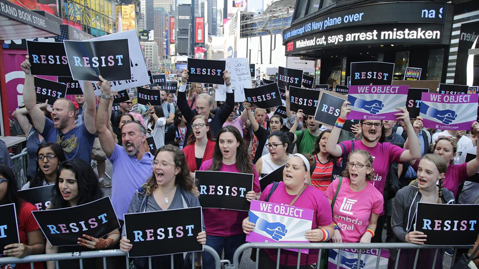 Top LGBTQ groups blast Trump's day of anti-LGBTQ attacks