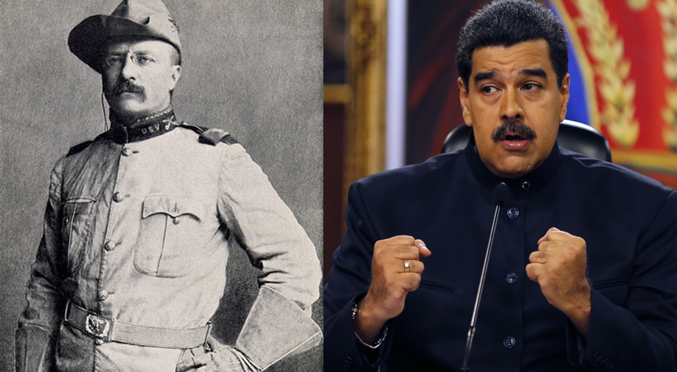 Teddy Roosevelt vs. Nicolás Maduro: U.S.-backed regime change in Venezuela