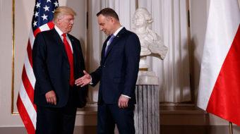 At G-20 in Hamburg, Trump should call for peace, not war