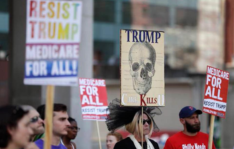 On health care, keep on resisting