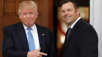 """Some 44 states tell Trump and Kobach to """"jump in the lake"""""""