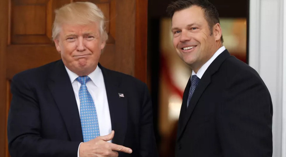 "Some 44 states tell Trump and Kobach to ""jump in the lake"""