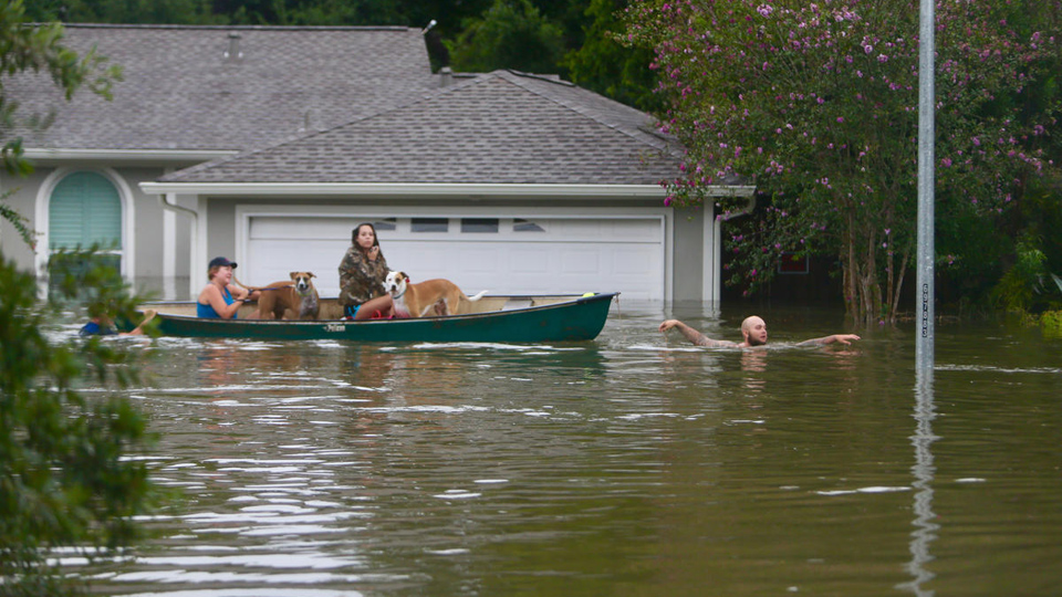 The epic climate change disaster is happening now in Houston