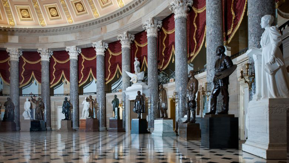 Demand grows for removal of Confederates' statues from Capitol