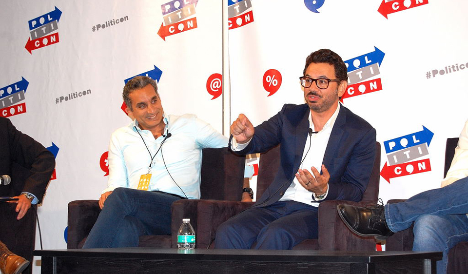 Ann Coulter interrupta, Chelsea Handler, Roger Stone & more at Politicon