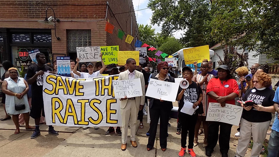 """Save the Raise"": Missouri coalition fights to save minimum wage"