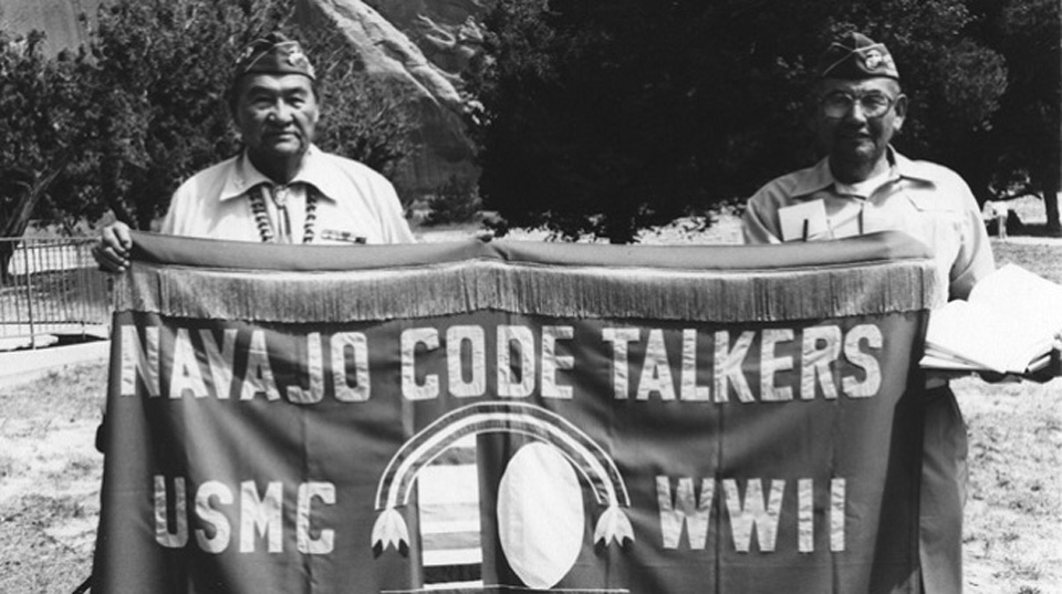 navajo code talkers of world war Navajo code talkers at a 1979 parade in window  in what ways might the outcomes of world war ii battles and the war itself have been different if the code talkers.