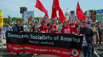 In the era of Trump, a growing DSA talks socialism